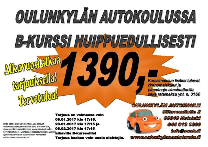oulunkylän autokoulu