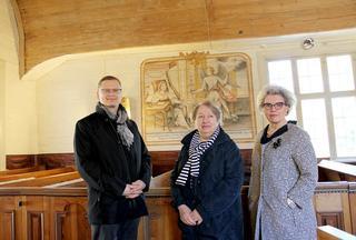 15880uutinen kempeleen vanha kirkko. helomaa ym.