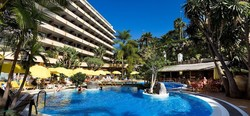 14 vrk all inclusive-majoitus kahdelle 4 tähden hotellissa merinäköalalla Puerto de la Cruzissa Teneriffalla! Voimassa 30.4.2015 asti