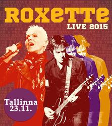 Roxetten konsertti 23.11. ja 1 yön majoitus Tallinnassa kahdelle. Sis. konserttiliput, kuljetukset konserttiin ja majoitus Ilmarine-hotellissa