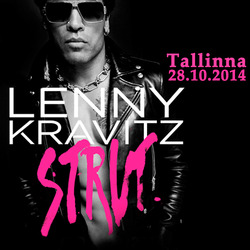 Lenny Kravitzin konsertti 28.10. ja 1 yön majoitus Tallinnassa kahdelle. Sis. konserttiliput, kuljetukset konserttiin ja majoitus Ilmarine-hotellissa