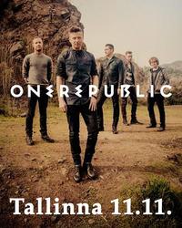OneRepublicin konsertti 11.11. ja 1 yön majoitus Tallinnassa kahdelle. Sis. konserttiliput, kuljetukset konserttiin ja majoitus Ilmarine-hotellissa