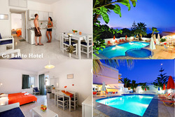 Lento ja hotelli Kreetalla viikoksi yhdelle, lähdöt 26.4., 31.5. ja 7.6.2015. Sis. lennot, lentokenttäkuljetukset ja majoitus.