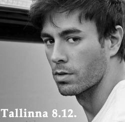 Enrique Iglesiasin  konsertti 8.12. ja 1 yön majoitus Tallinnassa kahdelle. Sis. konserttiliput, kuljetukset konserttiin ja majoitus Ilmarine-hotellissa