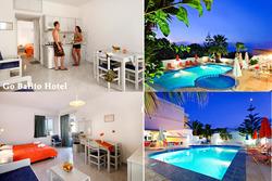 Lento ja hotelli Kreetalla viikoksi yhdelle, lähdöt 17.5. ja 24.5.2015. Sis. lennot, lentokenttäkuljetukset ja majoitus.