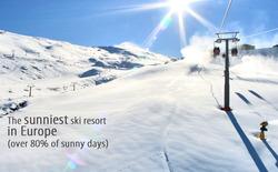 Laskettelemaan Euroopan aurinkoisimpaan hiihtokeskukseen Sierra Nevadaan, sis. suora lento, autovuokra ja hotelli puolihoidolla viikoksi kahden hengen huoneessa. Hinta yhdelle.