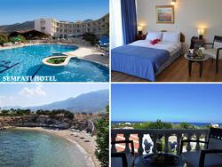 Lento ja hotelli Pohjois-Kyproksella viikoksi yhdelle. Sis. lennot, lentokenttäkuljetukset ja majoitus sekä aamiainen. Lähdöt: 21.2.2015, 28.2.2015, 7.3.2015, 14.3.2015, 21.3.2015, 22.10.2015 ja 29.10.2015