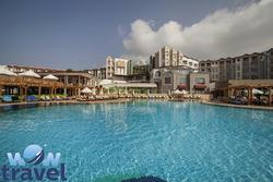 Lento ja  4-5 tähden hotelli Turkissa viikoksi sekä Pamukkalen retki 21.-28.3.2015 sis. lennot, lentokenttäkuljetus, majoitus, aamiainen, retki ja kaupunkikierros