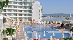 Lennot ja 7 vrk all inclusive-hotelli Mustanmeren rannalla Bulgarian Nessebarissa, sisältää myös lentokenttäkuljetukset -  lähdöt kesäkuussa 2015.