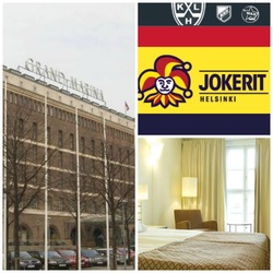 Jokerien KHL-ottelu Hartwall Areenalla ja 1 yön majoitus Scandic hotellissa! Sis. kaksi lippua, yhden yön majoitus ja aamiainen.