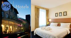 Yhden yön majoitus Tallinnan palkitussa 4 tähden Ilmarine hotellissa ja lounas tai illallinen Wiegand-ravintolassa, sis. majoitus, lounas/illalinen, aamiainen, pullo kuplivaa, alennuksia, ilmainen kuntosali, myöhäinen check out.
