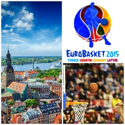 Riika: koripallon EM-kisamatka yhdelle. Sis. suorat lennot joko Helsingistä tai Tallinnasta, majoitus, kisalippu, kuljetukset - tarjous on yhdelle hengelle.