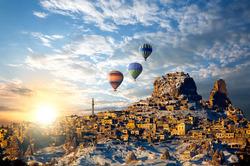 Lento ja 5* hotelli Turkissa viikoksi yhdelle voimassa 18-25.10.2015. Sis. lennot, lentokenttäkuljetukset, ja 4-5-tähden hotellimajoitus, 3 päivän Kappadokian retki, Antalyan kaupunkikierros ja tervetulojuoma