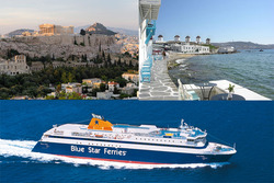 Ateena ja Mykonos 7 vrk kaupunki- ja rantaloma lentoineen! Sis. lennot Ateenaan, majoitus, aamiainen ja laivamatka Mykonokselle. Voimassa kesä-, heinä-, syys- ja lokakuussa.